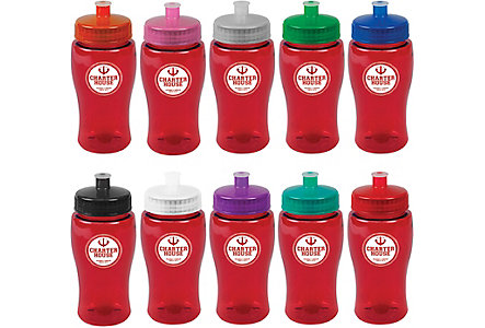 Poly Pure Water Bottle 18 Oz