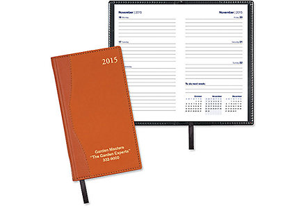 Cabernet Pocket Calendar Weekly