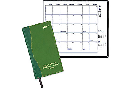 Cabernet Pocket Calendar Monthly