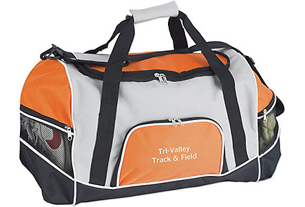 Tri-Pocket Sport Duffel Bag