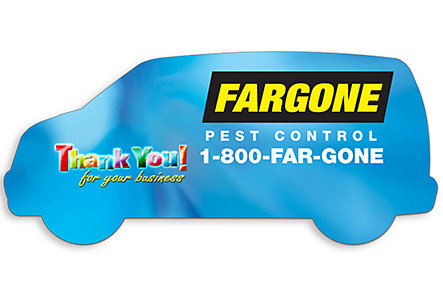 Van Magnet Full Color Print