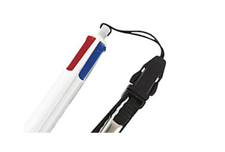 Bic 4-Color Pen With Lanyard