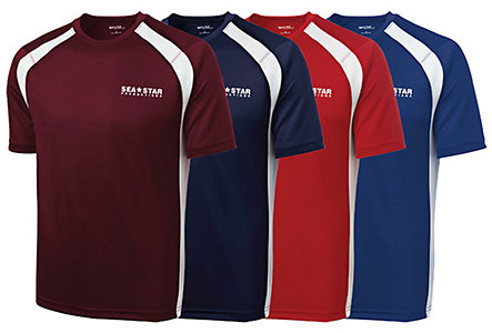 Sport-Tek Colorblock Crew - Adult