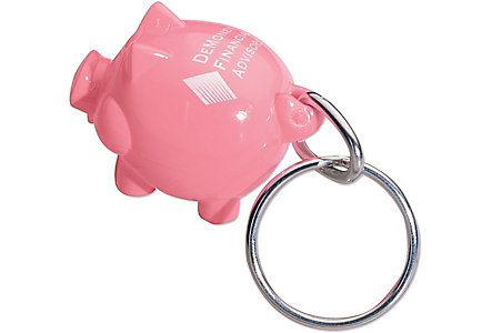 Acrylic Piggy Key Chain