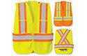 Safety Vest W/Five Point Tear Away