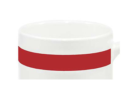 Color Stripe Mug 11 Oz