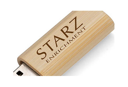 Eco Bamboo Usb 2.0 Flash Drive 1Gb