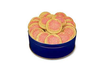 15Oz Crystal Sugar Cookie Tin