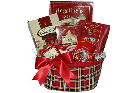 Holiday Tea & Cocoa Gift Basket
