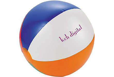 Swirl Beach Ball 12 Inch