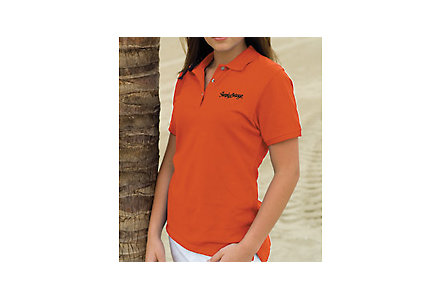 Ladies Velocity Cotton Pique Polo