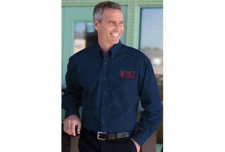 embroidered business shirts