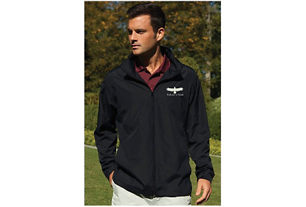 Full Zip Lightweight Hooded Jacket