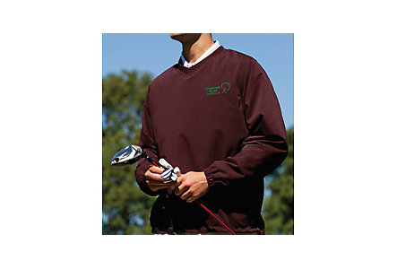 V Neck Microfiber Windshirt