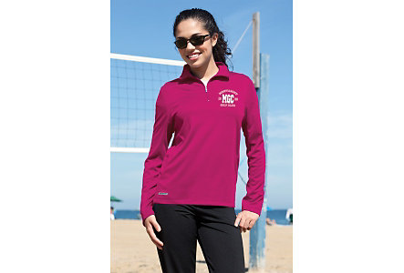 Vansport Ladies 1/4 Zip Pullover