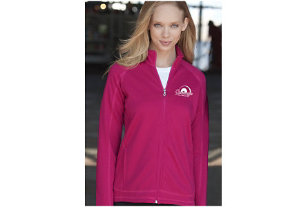 Ladies Microfleece Zip Jacket