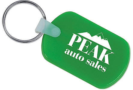 Rectangular Soft Key Tag