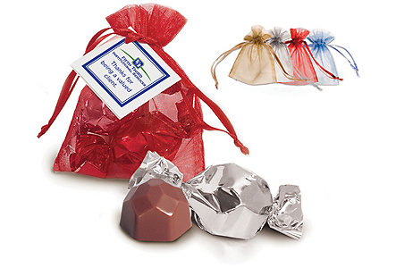 Bag Of 2 Belgian Chocolate Truffles