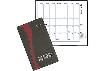 Fusion Pocket Calendar Monthly