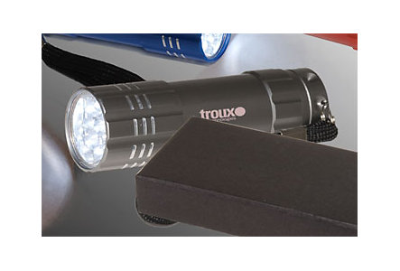 Aluminum Flashlight 9 Led