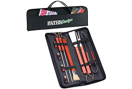 10-Piece Barbeque Set