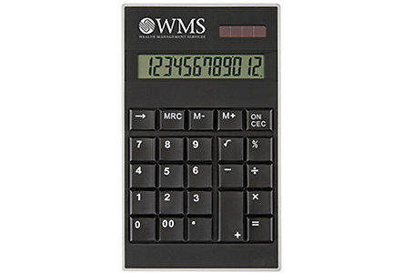 Classic Black Desk Calculator