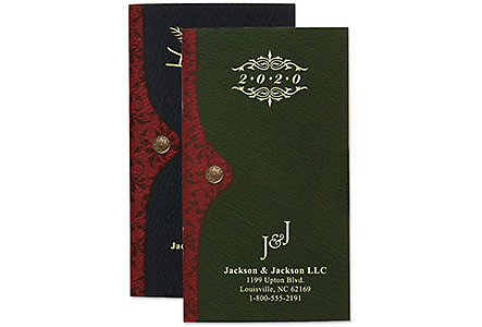 Madison Pocket Weekly Gold Imprint
