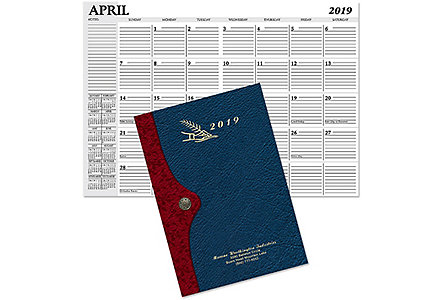 Madison Monthly Planner Gold Imp.