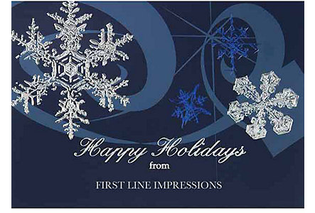 Snowflake Sensation Holiday Card
