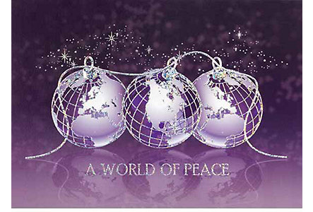 World Of Peace Holiday Card
