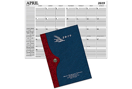 Madison Monthly Planner Silver Imp.