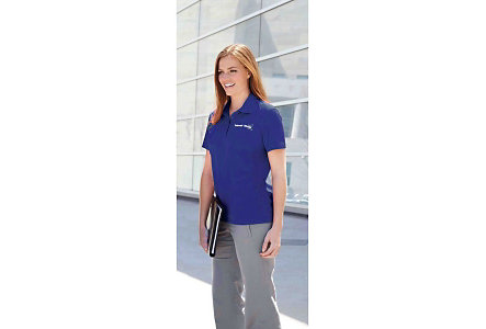 Ladies Snag Protection Solid Polo
