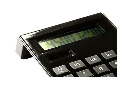 Slim Ergonomic Calculator