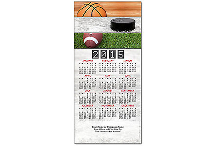 Outdoor Greeting Card Calendar