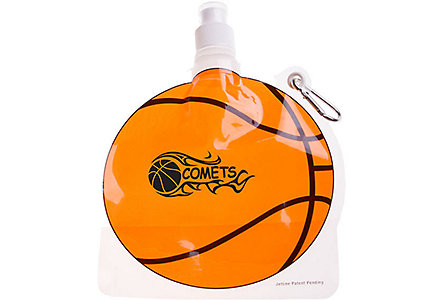 Basketball Collapsible Water Bottle