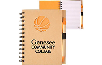 BASKETBALL RECYCLED NOTEBOOK