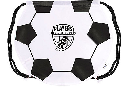Soccer Drawstring Backpack