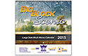Big Block Scenic Wall Calendar