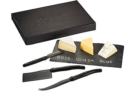 laguiole cheese serving set