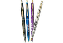 Bic Clear Clics Gold