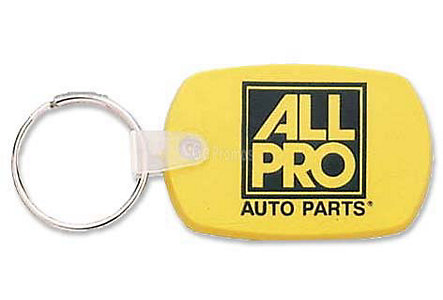 Soft Touch Key Tag Standard Shape