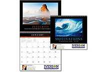 Motivations Spiral Wall Calendar