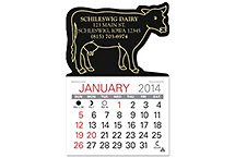 Cow Value Stick Calendar