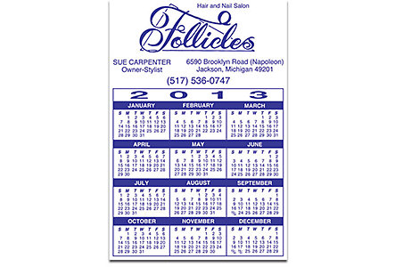 Magnetic Calendar - Large