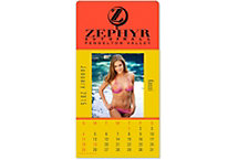 Swimsuit Picture Stick Calendar