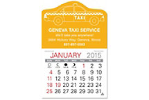 Taxi Value Stick Calendar