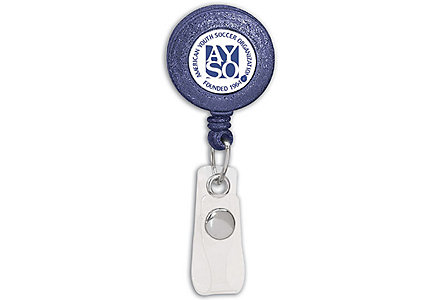Badge Holder Round Retractable