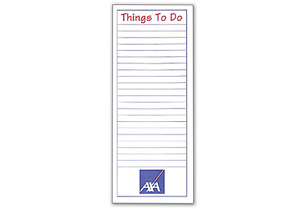 Things To Do Magnetic Note