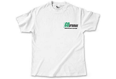 100% White Cotton Tshirt