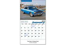 Muscle Car Wall Calendar